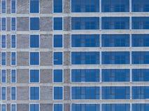 Fasada z szklanymi okno obrazy stock