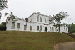 Fasada Zasadniczy Brazylia budynek w Butantan instytucie zdjęcie royalty free