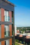 Fasade de bâtiment résidentiel Images libres de droits