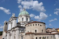 Cathedral of Brescia, Italy Stock Images