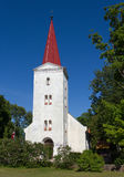 Fasade of lutheran church. Stock Image