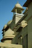Fasadfortfragment av bärnsten i Jaipur Royaltyfri Bild