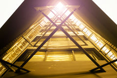 Fasadowa struktura Obraz Royalty Free