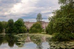 Fasadowy buckingham palace, Londyn, Anglia obraz stock