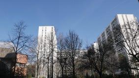 fasadowy budynek zdjęcia stock