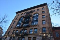 Fasadowy budynek - Nowy Jork obraz royalty free