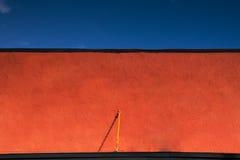 fasadowy czerwony wierzchołek zdjęcia royalty free