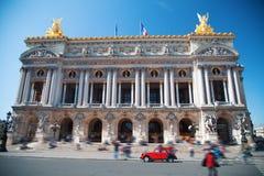 fasadowy France garnier opery pałac Paris Zdjęcia Stock