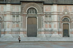 fasadowy San petronio obrazy stock
