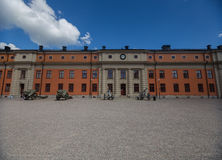 Fasadowy Vaxholms kastell, Sztokholm Szwecja Zdjęcia Stock