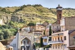 Fasady Tbilisi Obrazy Stock