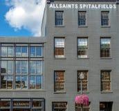 Fasady typowi budynki w Georgetown, washington dc zdjęcia stock