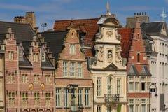 Fasady w Korenlei korniszon Belgia Zdjęcie Stock