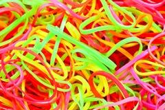Fasce elastiche colorate Fotografia Stock Libera da Diritti