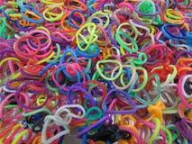 Fasce elastiche colorate Immagine Stock