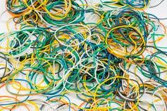 fasce elastiche di colore Fotografia Stock