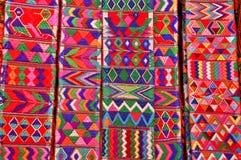 Fasce tessute Mayan Fotografia Stock