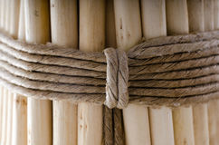 Fasces. Several sticks connected by a rope. Union Symbol Royalty Free Stock Photos
