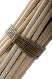 Fasces. White. Several sticks connected by a rope. Union Symbol Royalty Free Stock Images
