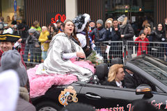Fasching carnival parade Karlsruhe Germany Stock Photos