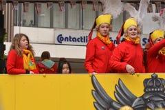 Fasching carnival parade Karlsruhe Germany Stock Image
