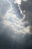 Fasci da cielo Fotografia Stock Libera da Diritti