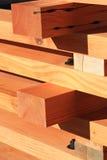 Fasci ripresi del legname dell'abete Immagine Stock Libera da Diritti