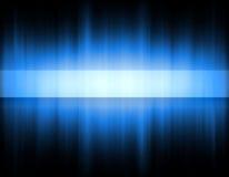 Fascia blu Fotografie Stock Libere da Diritti