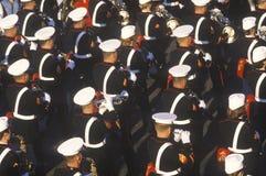 Fascia del fante di marina degli Stati Uniti Fotografia Stock Libera da Diritti