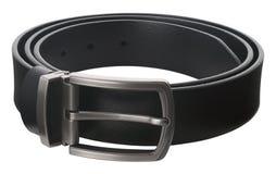 Fascia di cuoio nera Fotografie Stock
