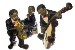 Fascia di jazz Fotografia Stock