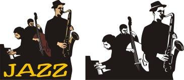 Fascia di jazz Fotografia Stock Libera da Diritti