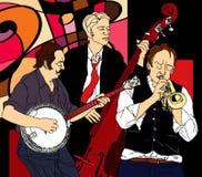 Fascia di jazz royalty illustrazione gratis