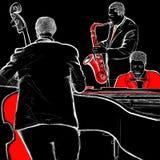 Fascia di jazz illustrazione di stock