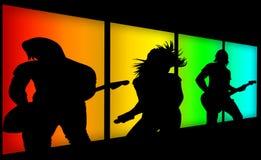 Fascia di musica Fotografia Stock Libera da Diritti