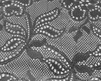 Fascia nera del merletto Fotografia Stock Libera da Diritti