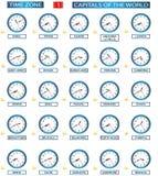 Fascia oraria - 1 Immagine Stock