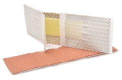 Fasciatura adesiva medica Immagine Stock