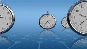 Fascie orarie illustrazione di stock