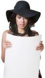 Fascinated женщина Рединг стоковые фото