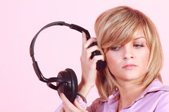 Fascinated By Music Royalty Free Stock Photography