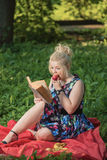 The fascinating book Royalty Free Stock Photo