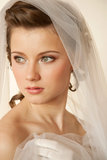 Fascinating bride Stock Photography