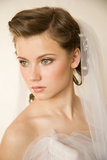 Fascinating bride Royalty Free Stock Photo