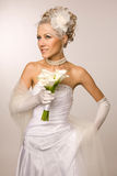 Fascinating bride Royalty Free Stock Photography