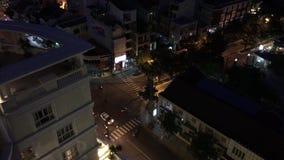 Fascinating traffic in Vietnam stock footage
