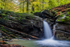 Free Fascinating Waterfall In The Mountains Stock Photography - 78945862