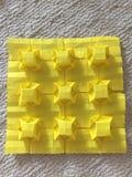 Fascination de 3 origamis dimensionnels Photo libre de droits