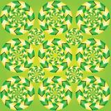Fascinerande optisk illusion Arkivfoto