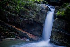 Fascinerande vattenfall i bergen Royaltyfria Bilder